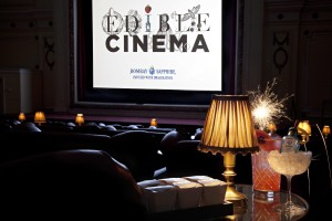Edible Cinema and Bombay Sapphire