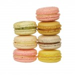 Macarons Loose, assorted stack
